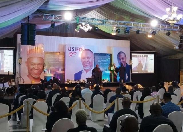 Super TV CEO Michael Usifo Ataga laid to rest (Photos)
