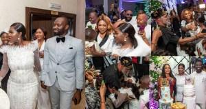 Mercy Johnson Okojie party
