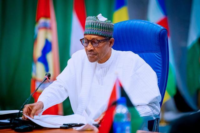 President Buhari goes