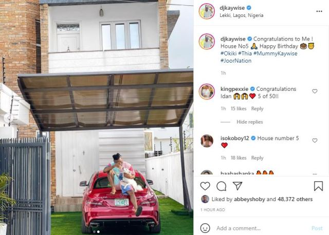 "House No 5"" – DJ Kaywise writes as he buys a new house to mark his 29th  birthday   Akahi News"