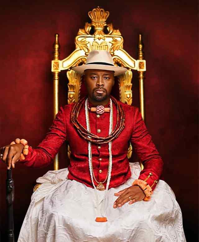 Olu Of Warri's crown goes