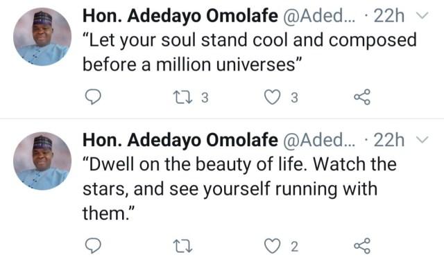 Adedayo Omolafe dies