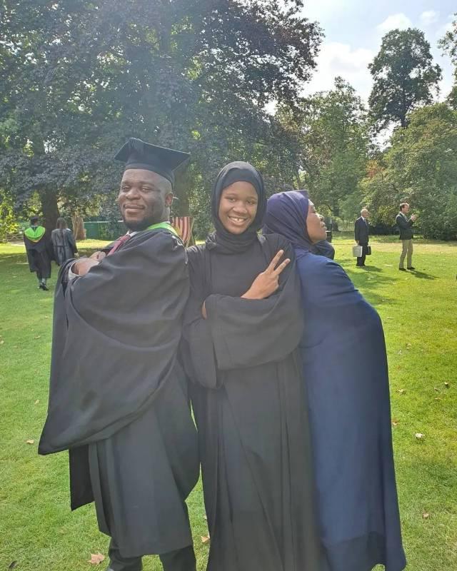 Aisha Yesufu celebrates