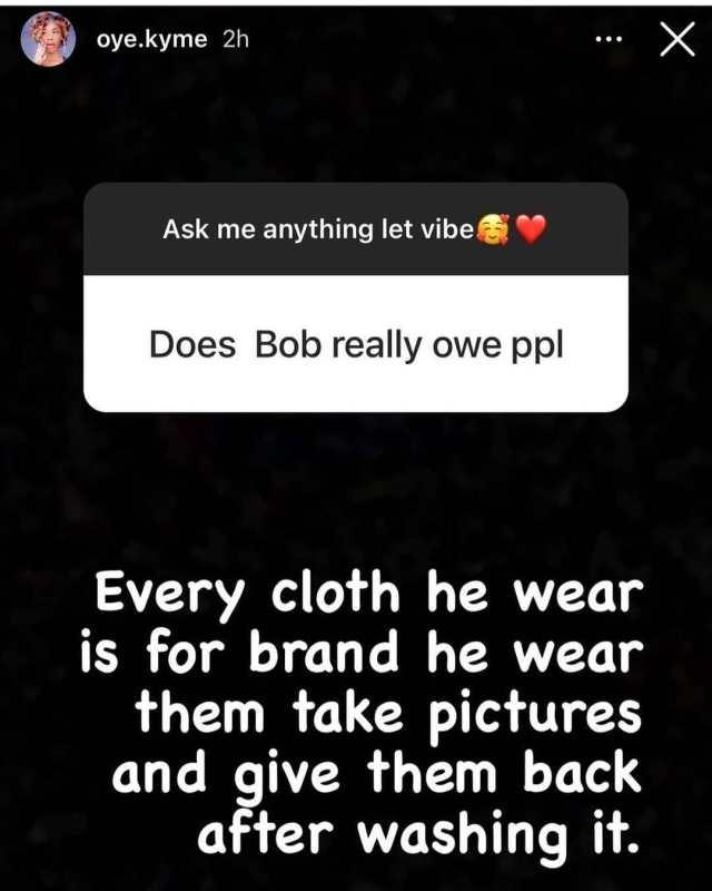 Bobrisky's former PA, Oye Kyme leaks juicy details about Bobrisky