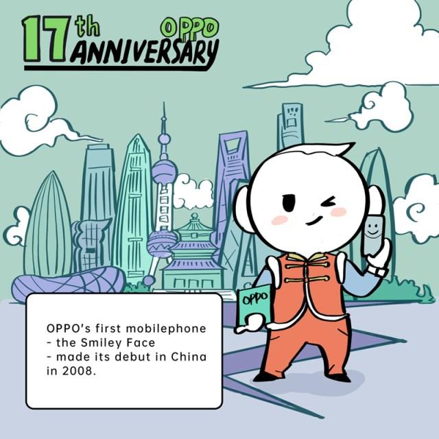OPPO celebrate