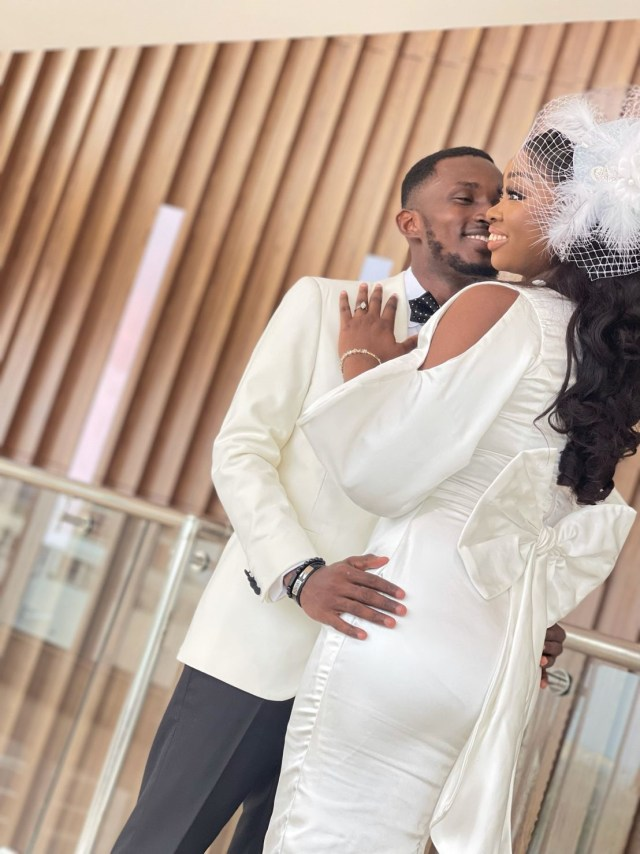 """How it started vs How it's going: Nigerian man shares beautiful """"happily ever after"""" story (Photos)"""
