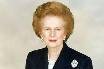 Margaret Thatcher : « The Iron Lady ».