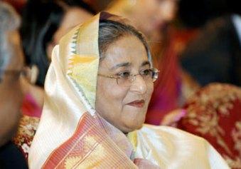 Sheikha Hasina Wajed : actuelle Première Ministre du Bengladesh, pays musulman.