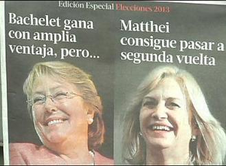 Dilma Roussef et Cristina de Kirchner : deux présidentes de pays d'Amérique du Sud.
