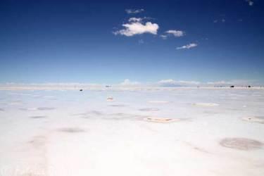 Bolivie avec son grand désert de sel, les salar d'Uyuni