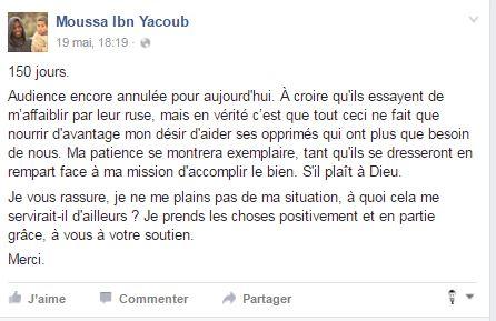 moussa message