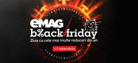 Black Friday 2018. Primele reduceri bune de la eMAG
