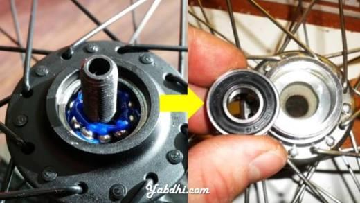 Ganti Gotri Pelor ke Sealed Bearing - Ukuran Bearing Hub Sepeda