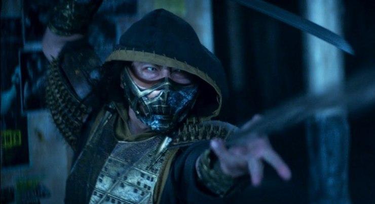 Scorpion saat bertarung dengan Sub Zero