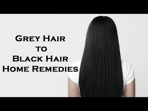 How to prevent premature graying of hair naturally