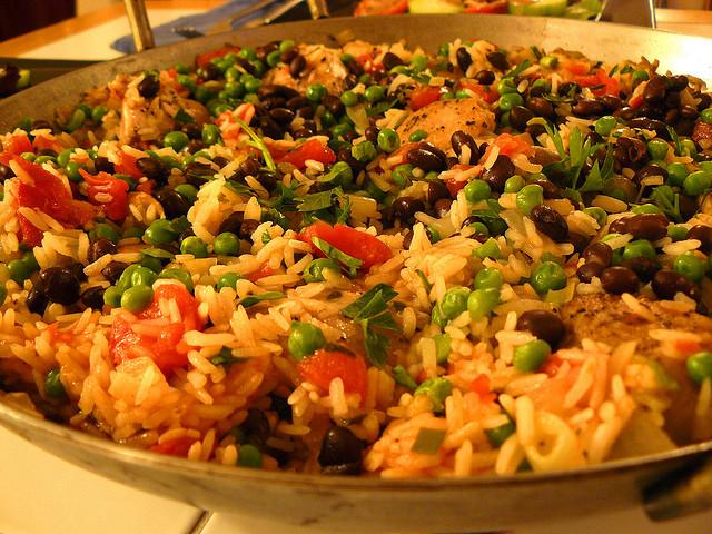 Delicious Tomato Rice With Peas Recipe