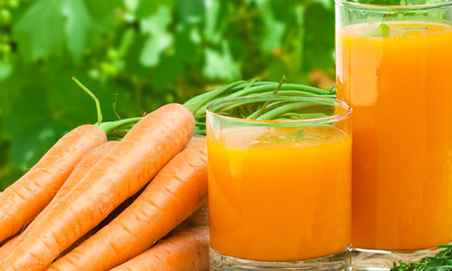 Hair and skin benefits of carrots