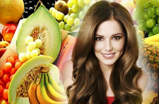 Fruits for healthy hair