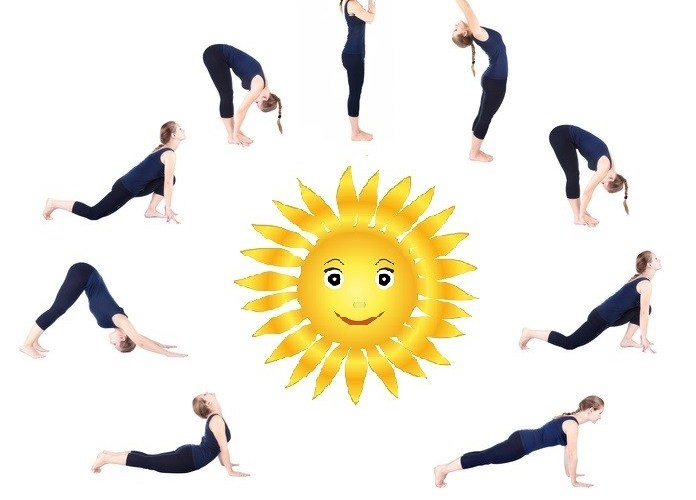 Surya Namaskar steps practice every morning