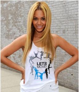 Beyonce without makeup