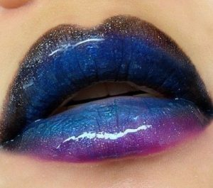 ombre lip Make Up
