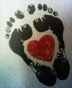 baby footprint tattoos