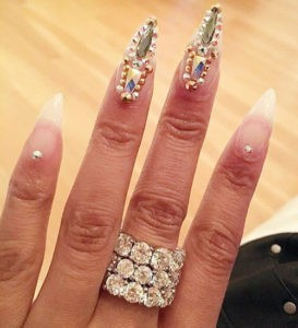Nicki Minaj nails