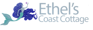 Ethel's Coast Cottage Logo, Yachats, OR