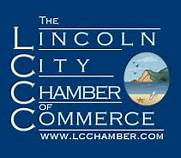 Lincoln City C of C Logo, Lincoln City, OR