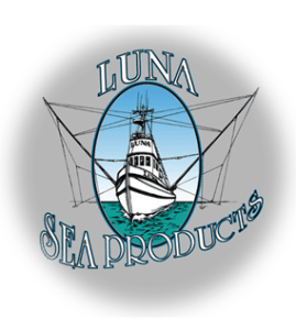 Luna Sea Fish Products Logo, Yachats, OR
