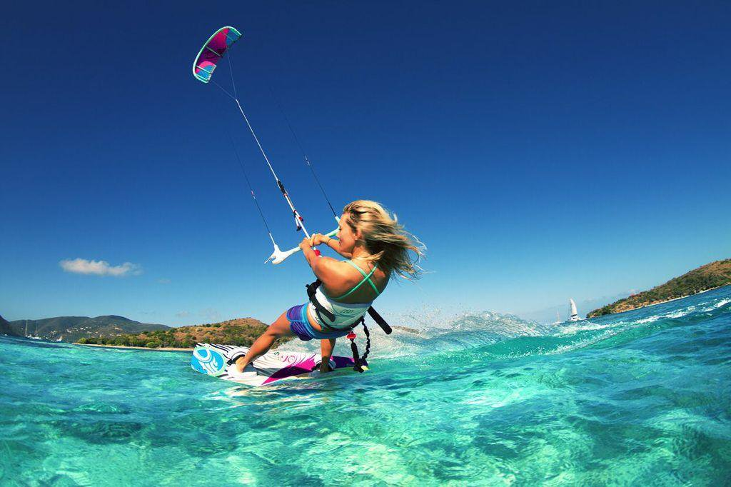 A Kiteboarding Trip in the  Bahamas
