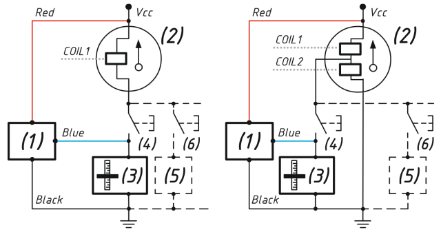 Connection in parallel with an exitsting analog gauge
