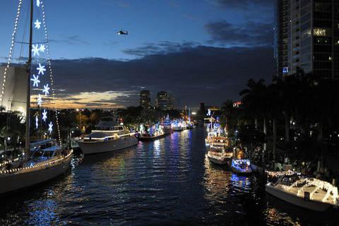 Seminole Hard Rock Winterfest Boat Parade Yacht Direct