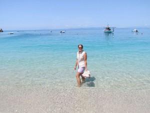 First wetting in the Greek sea