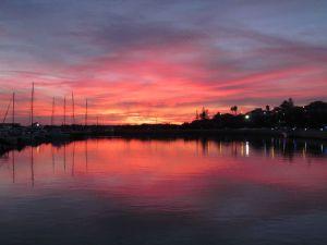 Santa Lucia sunset