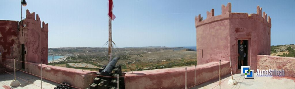 The view from the Red Tower