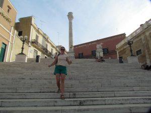 Pretending to walk the Appian Way