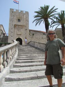 The entrance to Korcula Town