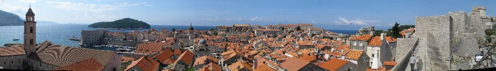 From the walls of Dubrovnik