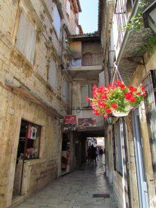 A pretty lane in Trogir