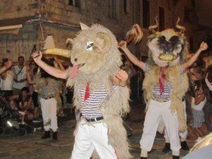 The crazy sheep men of Ston