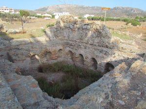 An ancient bath house