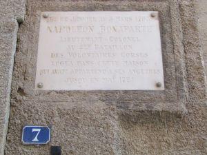 Napoleon was 'ere!
