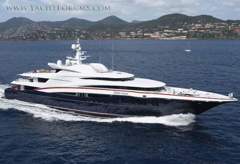 Review Oceanco 248 Superyacht Anastasia Oceanco