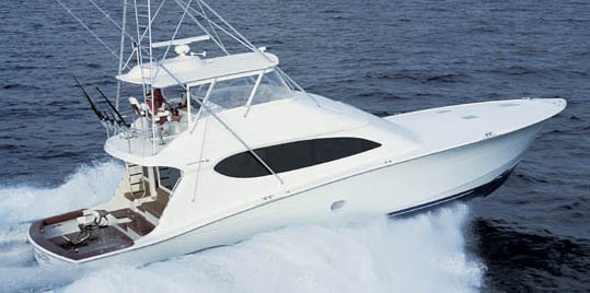 Review Hatteras 68 Convertible Hatteras Yacht