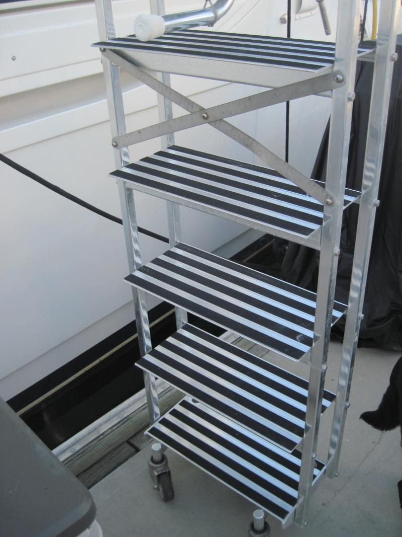 Marquipt 6 Step Sea Stairs For Sale SOLD BuySellTrade YachtForums We Know Big Boats