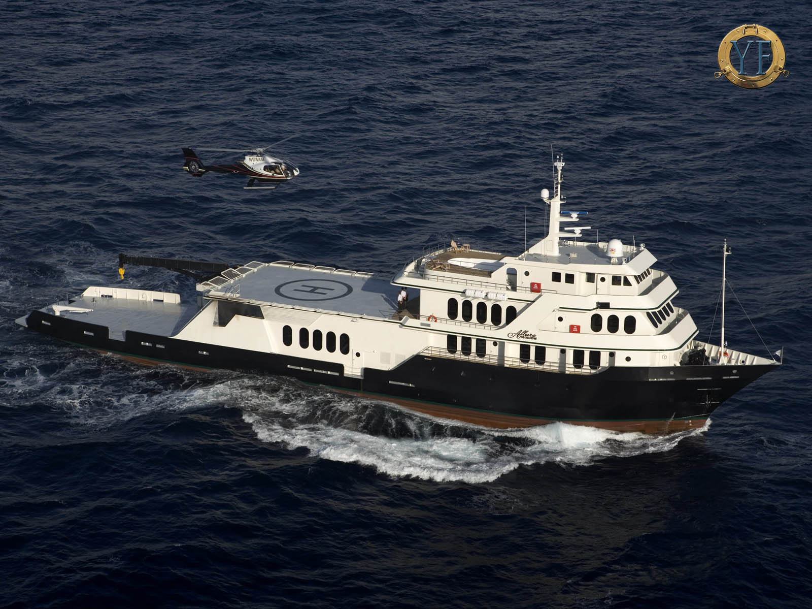 Shadow Marine Yacht Wallpapers Yacht Escort Ships Amp Shadows YachtForums We Know Big Boats