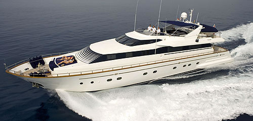 MY OBSESSION FALCON 102 Luxury Crewed Motor Yacht Charter