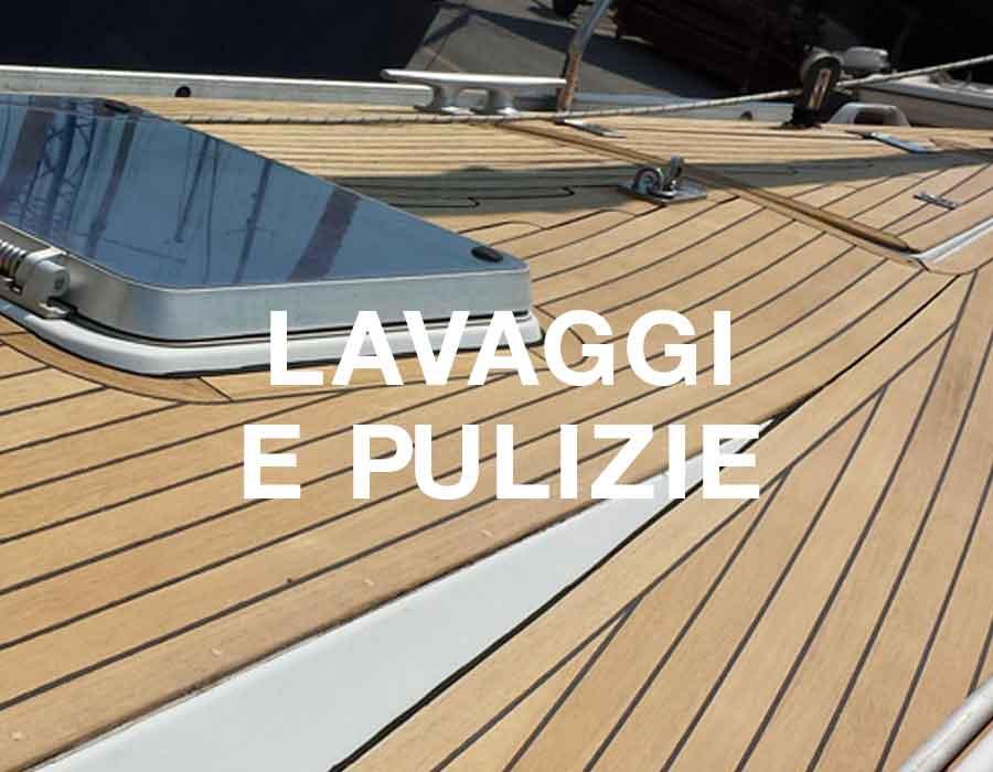 servizio lavaggi e pulizie La Spezia, 5 Terre - La Spezia Yachting Service