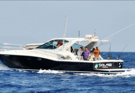 Yacht Rentals in Cancun private Luxury fishing yacht charter in cancun sport fishing isla mujeres puerto morelos puerto aventuras cozumel fishing boat fishing charter fishing trip Caribbean fishing charter Uniesse 48 Feet in cancun